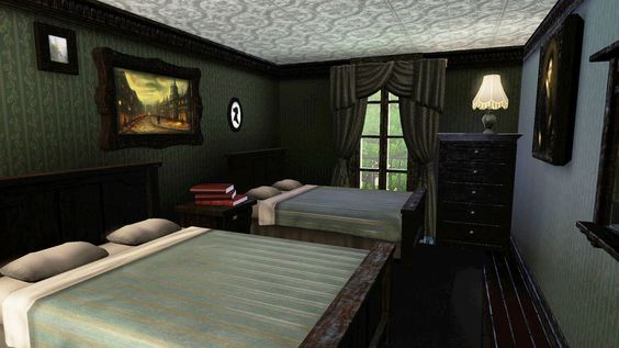 Harry Potter - Nr. 12 Grimmaud Place - spare bedroom