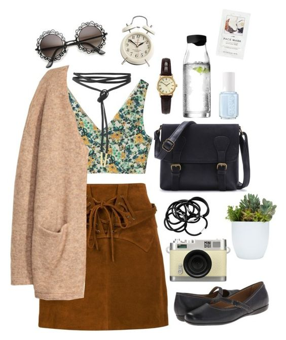 Vintage southwest by hannah-nairn on Polyvore featuring polyvore, fashion, style, H&M, Faith Connexion, Aula Aila, Trotters, Sekonda, Essie, Menu, Retrò, vintage and clothing