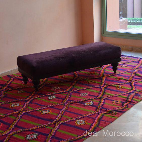 Marokko Vintage Teppich / / 6 x 12' / / lebhaft von dearMorocco, $890.00