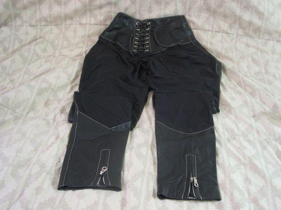 WILSONS Black Leather and Lycra Pants Sz XS Women's WILSONS Black Leather and Lycra Pants Sz XS Women's http://ajunkeeshoppe.blogspot.com/