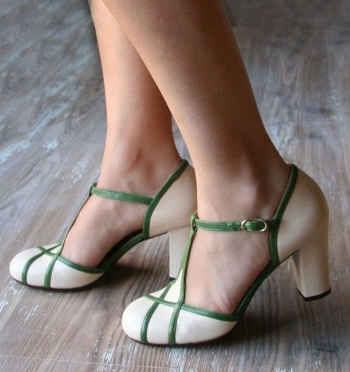 KRIS MOJITO :: SHOES :: CHIE MIHARA - So pretty, but no one should ever let me wear white shoes because I'd ruin them within five minutes. Maybe less.