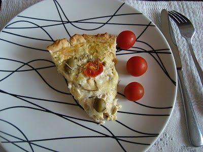 QUITUTES DA ANDRÉA: Quiche de frango com requeijão cremoso