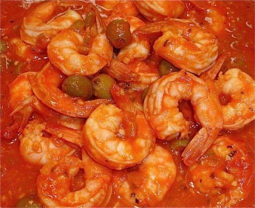 CAMARONES A LA CRIOLLO, Shrimp Creole from http://TheHungryCuban.com