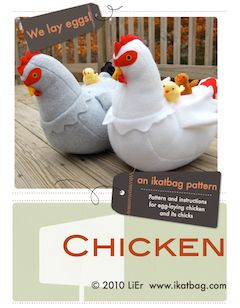 "This is  super cute chickens to make. They ""lay"" eggs and you can make chicks small enough to put inside the eggs.  The link also has cute little story ideas for the chickens."