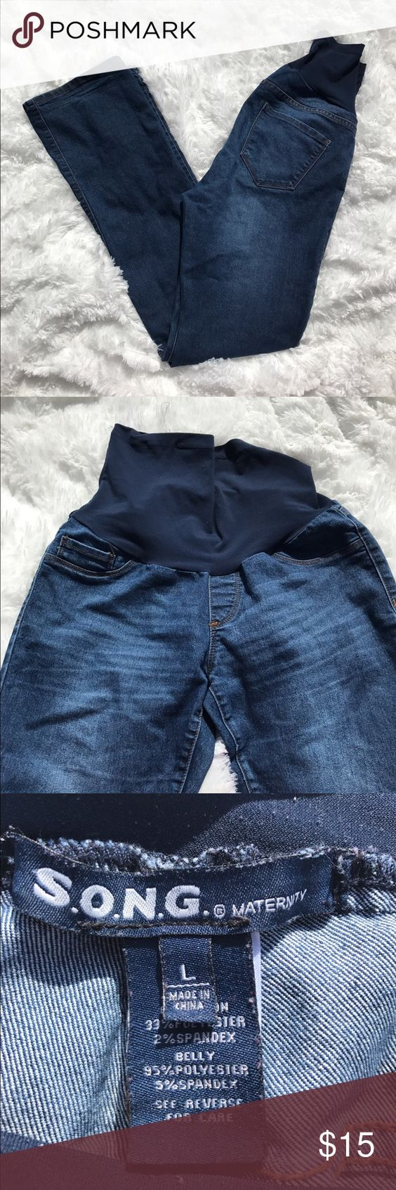 S.O.N.G Maternity Jeans | Maternity jeans, Boots and Blues