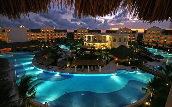 Excellence Riviera Cancun, Riviera Maya, Mexico. Beautiful location, property and service, this place really is heavenly
