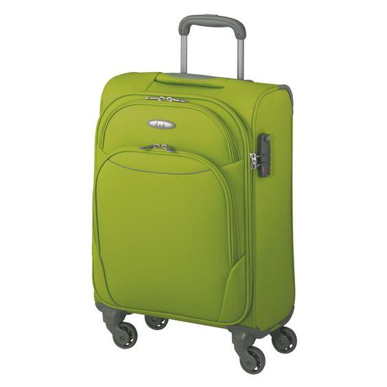 #Kabinentrolley d&n Travel Line 7404 bei Koffermarkt: ✓Weichgepäck ✓4 Rollen ✓Farbe: grün ✓nur 2,1 kg  ⇒Jetzt kaufen
