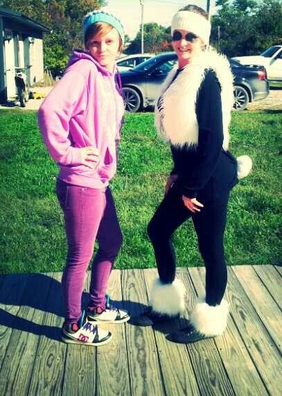 My ma is a panda (: