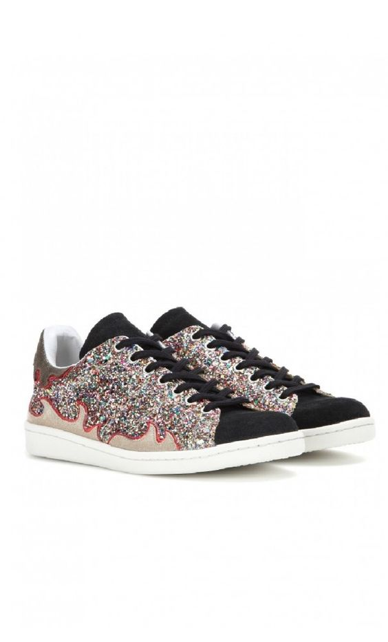 Isabel Marant Gilly Glitter #Sneakers #perfectpair