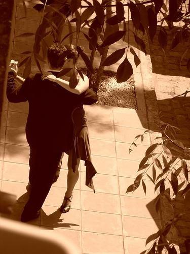 tango in sephia