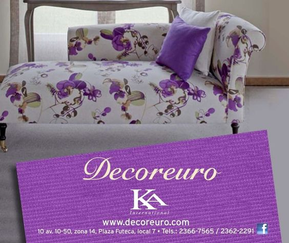 Telas ka international exclusivamente en decoreuro las - Telas tapizar sofas ...