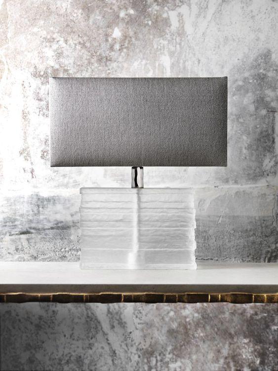 Crystal Strata Lamp. Porta Romana