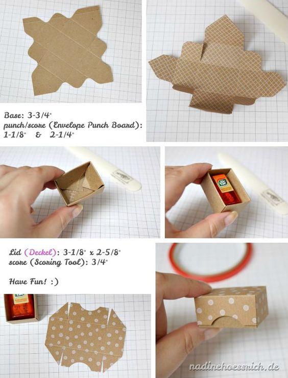 Mini-Box für ein einzelnes FerreroKüsschen