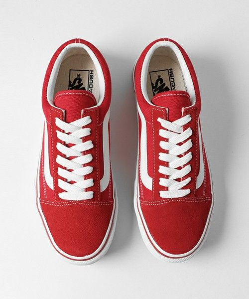 7b0363dfcb Buy all red old skool vans   OFF77% Discounts