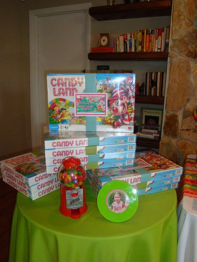 Candyland Party Favors
