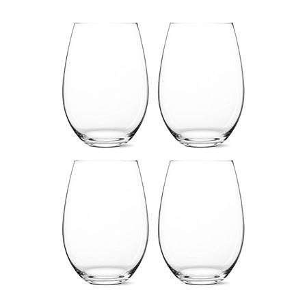 ACHICA | Riedel O Gift Boxed Set of 4 Crystal Shiraz Glasses