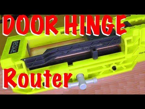 80 Ryobi Door Hinge Install Kit Review And Tutorial Youtube Door Hinges Hinges Doors
