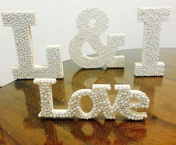 Cartas on pinterest - Letras de madera para decorar ...