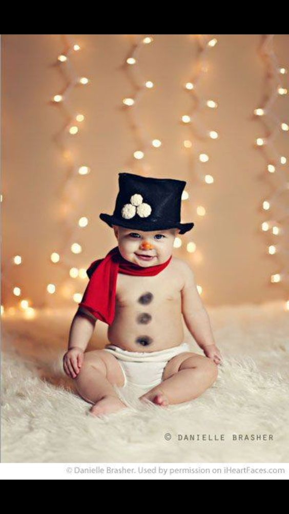 Baby the snowman