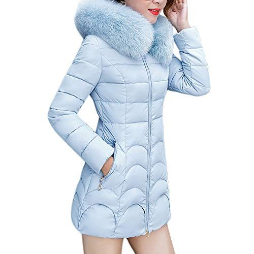 GOVOW Ladies Cardigans with Pockets Winter Warm Coat Jacket Parka Outwear Coat