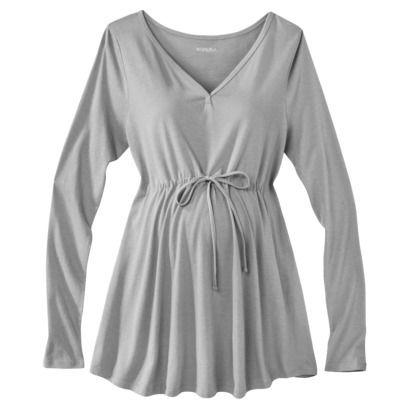 Merona® Maternity Long-Sleeve Knit Top - Assorted Colors