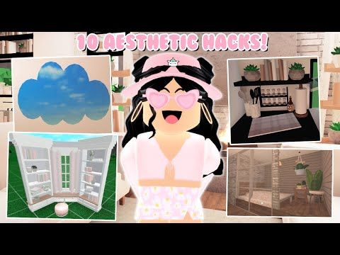 Roblox Bloxberg Building Hacks 10 Bloxburg Building Hacks And Tricks Aesthetic Roblox Youtube In 2020 Small House Design Plans Cute House Roblox