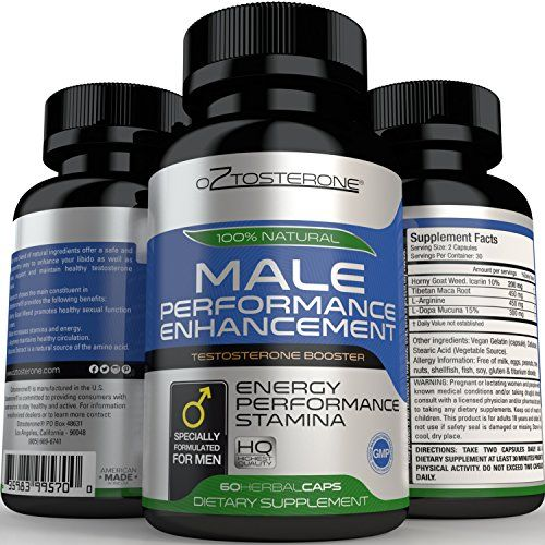 Oztosterone Male Performance Enhancement Testosterone Booster for Men - All Natural Vegan Made in the US Horny Goat Weed & Maca Root - 60 capsules - Increase Stamina, Energy, Muscle Growth & Fat Loss Oztosterone http://www.amazon.com/dp/B0157CQLDK/ref=cm_sw_r_pi_dp_.d-dxb0JMV7SK