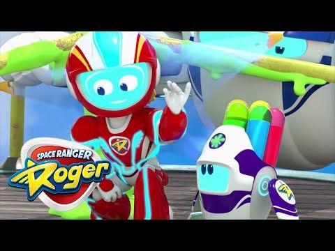 Cartoons For Children Space Ranger Roger Full Episode Roger Go Round Youtube Kid Spaces Rogers Ranger