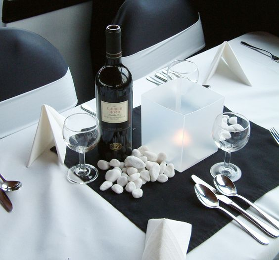 Pinterest the world s catalog of ideas for Fine dining table setting