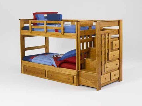 Litera infantil con cama canguro ideas casa pinterest - Literas para ninos ...
