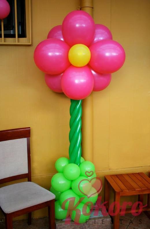 Globos flor decoracion festa celebracion cumplea os ni os - Decoracion cumpleanos infantiles ...