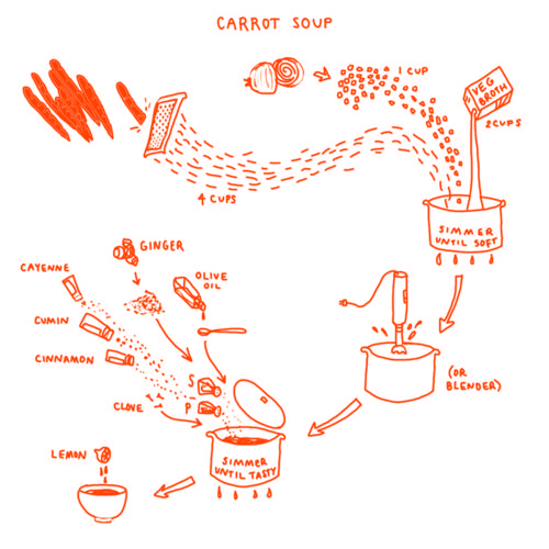 Picture Cook by Katie Shelly Every recipe is a diagram!