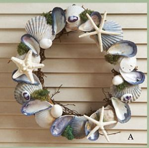 from Cape Cod - pretty blue mussel shells