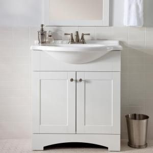 Cool Roman Bath Store Toronto Small Kitchen Bath Showrooms Nyc Rectangular Ice Hotel Bathroom Photos Bathtub Grout Repair Youthful Bathroom Sets At Target FreshTile Designs Small Bathrooms Glacier Bay Del Mar 30 In. W Vanity With AB Engineered Composite ..