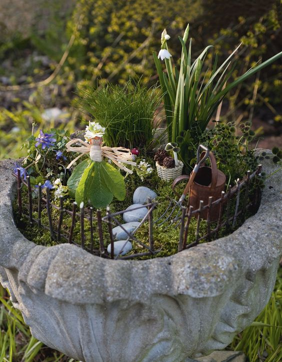 Garden Ideas From Recycled Materials