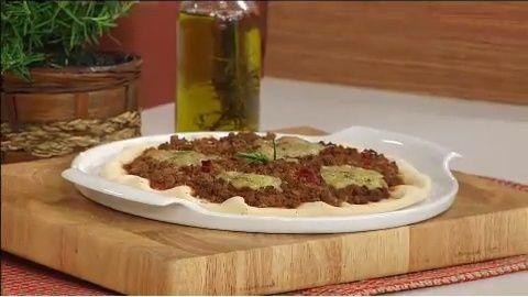 Pizza de Carne Moída