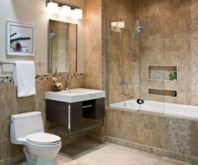 Tile Bathroom Photo Gallery beige tile bathroom - home design