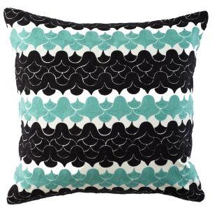 Waves Seafoam Pillow 24x24