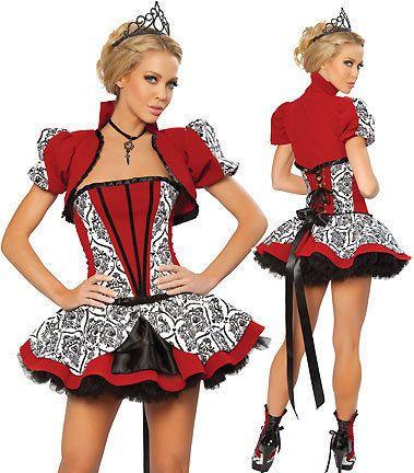 A932-Sexi-travestimento-costume-carnevale-halloween-vestito-regina-di-cuori