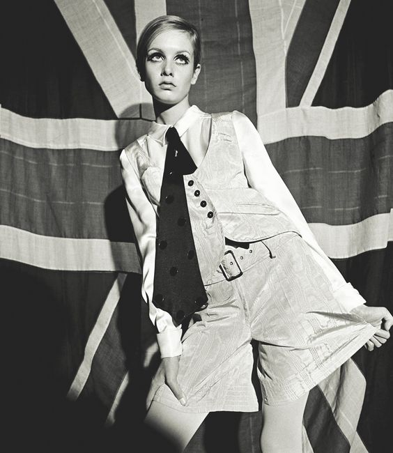 Twiggy 1966 by Terence Donovan