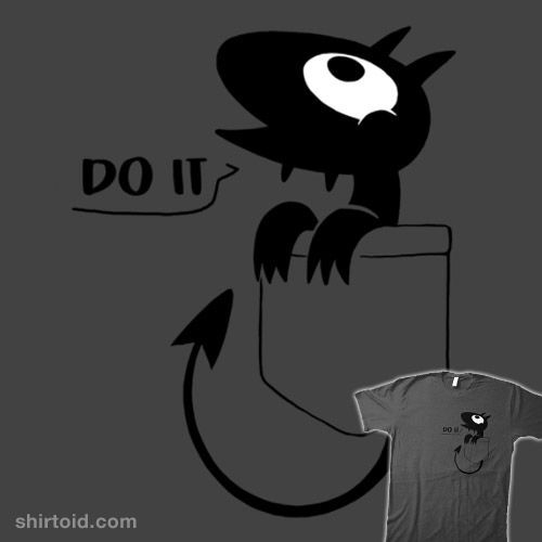 Luci in pocket T-shirt Disenchanted inspired design