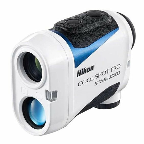 New Nikon 2018 Coolshot Pro Stabilized Golf Laser Rangefinder With