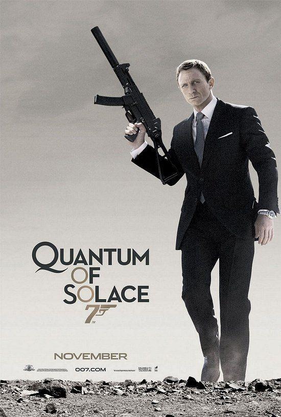 Quantum Of Solace James Bond Movies Bond Movies James Bond Movie Posters