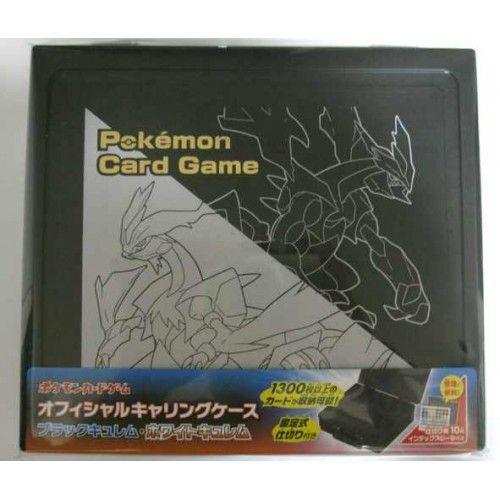 Pokemon 2012 BW#6 Cold Flare Freeze Bolt Black White Kyurem Card Storage Case