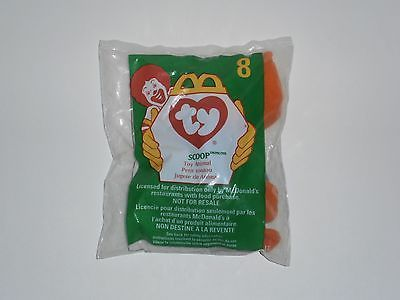 McDonalds Happy Meal Ty Teenie Beanie Baby 1998 Number 8 Scoop the Pelican - http://hobbies-toys.goshoppins.com/fast-food-cereal-premium-toys/mcdonalds-happy-meal-ty-teenie-beanie-baby-1998-number-8-scoop-the-pelican/