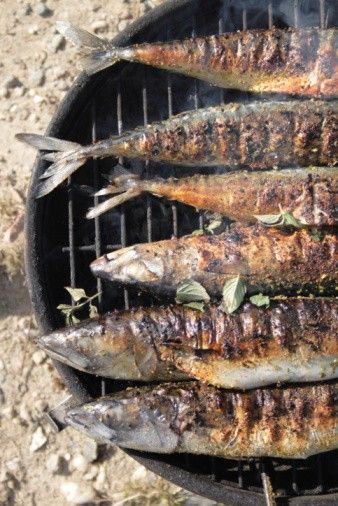 Grilled Sea Bass | Seafood | Pinterest | Sea Bass, Bass and Beans