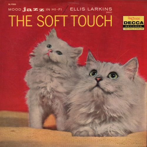 """c86:  Ellis Larkins - The Soft Touch, 1958 Bernard Peiffer - Piano A La Mood, 1958 via Unearthed In The Atomic Attic   """