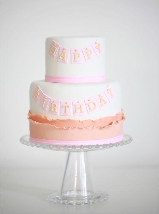 gorgeous Happy Birthday cake