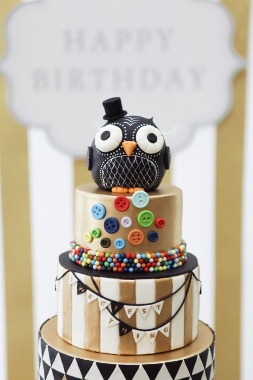 My Owl Barn: Owl Inspired First Birthday Party: