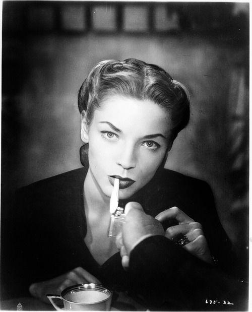 Lauren Bacall in Dark Passage, 1947
